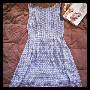 LA Soul Sleeveless Navy Blue Dress